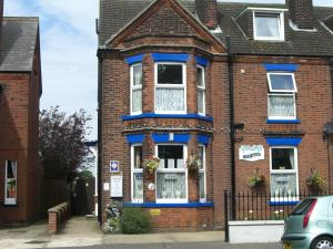 Spindrift guest house in Great Yarmouth, Norfolk, England