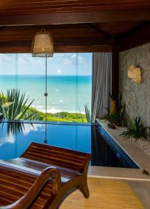 Master Double Suite with Sea View and Spa Bath
