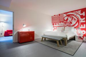 Estudio Suite con dormitorio independiente