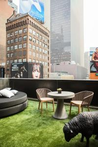 Times Square Terrace Room with King Bed and Balcony