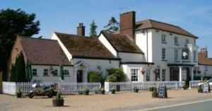 The White Horse Coaching Inn in Risby, Suffolk, England