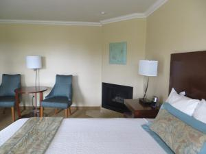 Two-Room Family Suite with Fireplace