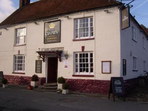 The Crown Aldbourne in Aldbourne, Wiltshire, England
