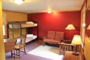 Double Room with Queen Bed and Bunk Bed