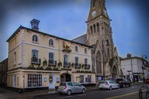 The Golden Lion Hotel in St Ives, Cambridgeshire, England