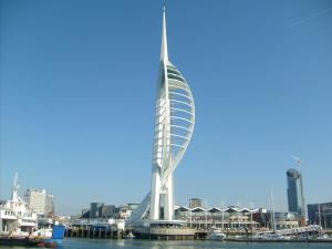 The Crescent in Portsmouth, Hampshire, England