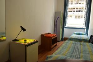 Bed in 2-Bed Dormitory Room with External Shared Bathroom