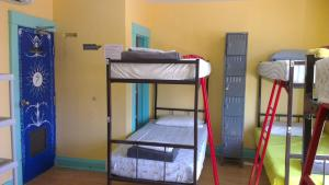 Bed in 8-Bed Mixed Dormitory Room with Shared Bathroom