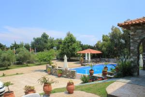 Zeus Hotel, Hotely  Platamonas - big - 62