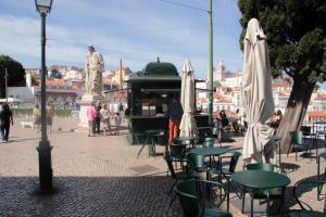 Courtyard House in Alfama, Apartments  Lisbon - big - 44