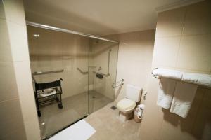Room with facilities for disabled guests