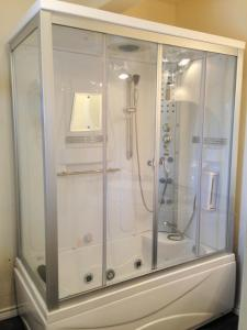Marine Room with Steam Shower and Whirlpool Tub