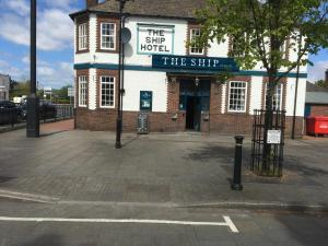 The Ship Hotel in Flint, Flintshire, Wales