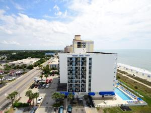 1 Bedroom 1 Bath Side Ocean-view Condo with 2 Queens and Wall Bed - T28