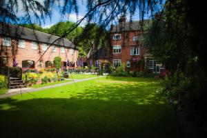 The Manor Guest house in Cheadle, Staffordshire, England