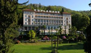 Esplanade Hotel, Resort & Spa: hotels Locarno - Pensionhotel - Hotels