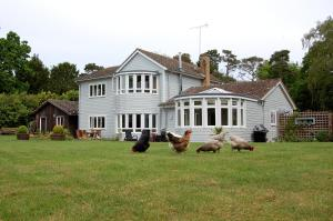 Hare Lodge in Peasenhall, Suffolk, England