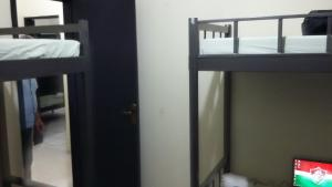 Bunk Bed in 4-Bed Mixed Dormitory Room with AC and Terrace View