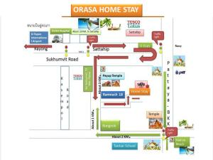 Orasa Homestay, Homestays  Sattahip - big - 31