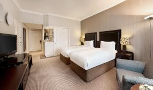 Twin Hilton Executive Kamer met Toegang tot de Executive Lounge