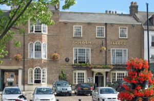 The Golden Fleece Hotel in Thirsk, North Yorkshire, England