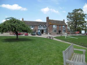 Lower Lode Inn in Tewkesbury, Gloucestershire, England
