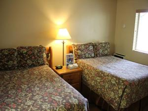 Two Bed Motel Room