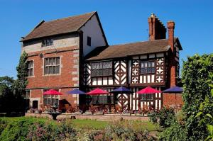Albright Hussey Manor Hotel in Shrewsbury, Shropshire, England