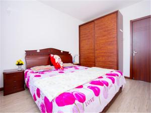 Qingdao Golden Beach Sihaiju Seaview Apartment Diwei Garden Branch, Apartmány  Huangdao - big - 14