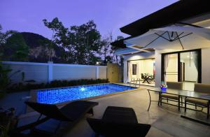 Private Pool Villa with Scooters