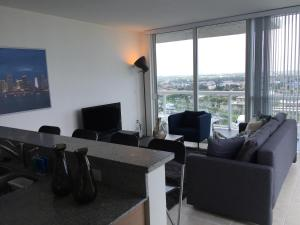 Luxury Three-Bedroom Apartment with Balcony