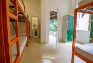 Bed in 8-Bed Dormitory Room with Internal Shared Bathroom