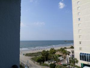 Double Room with Two Double Beds - Partial Ocean View