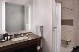 One-Bedroom King Suite - Mobility Accessible with Roll In Shower