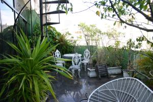Deluxe Double Room with Balcony with shared bathroom
