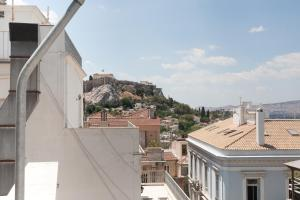 Acropolis view in the historical center of Athens, Apartmány  Atény - big - 8