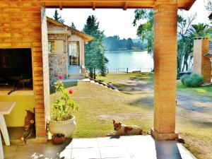 Two-Bedroom Chalet with Lake View