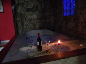 Chalet Duplex with Spa Bath