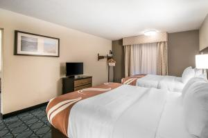 Queen Suite with with Two Queen Beds and Sofa Bed - Non-Smoking