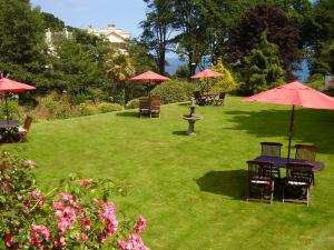 The Hotel Balmoral in Torquay, Devon, England