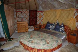 Almond Grove Yurt Hotel, Zelt-Lodges  Ábrahámhegy - big - 31
