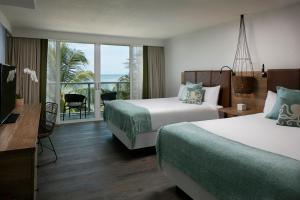 Oceanfront Suite with Two Queen Beds