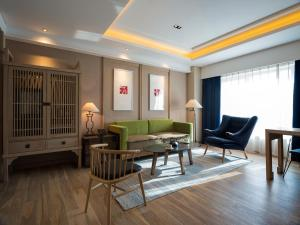 Harbin 22℃ Boutique Hotel, Отели  Харбин - big - 7