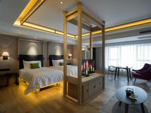 Harbin 22℃ Boutique Hotel, Отели  Харбин - big - 12