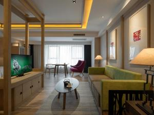 Harbin 22℃ Boutique Hotel, Отели  Харбин - big - 4