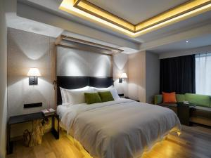 Harbin 22℃ Boutique Hotel, Отели  Харбин - big - 33