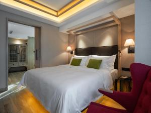Harbin 22℃ Boutique Hotel, Отели  Харбин - big - 32