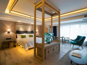 Harbin 22℃ Boutique Hotel, Отели  Харбин - big - 35
