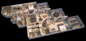 Royal Suite with Two Bedrooms
