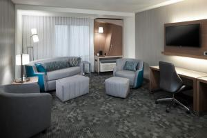 One Bedroom King Suite with Sofabed